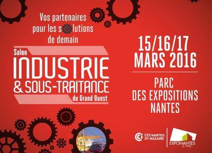 Affiche Salon Industrie & Sous-Traitance du Grand Ouest