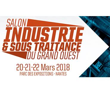 Affiche Salon Industrie & Sous Traitance du Grand Ouest 2018