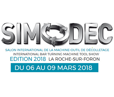 Bannière Salon International de la Machine-Outil de Décolletage 2018